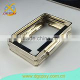 6.3 Inch High Quality Light Gold Color Kiss Lock Metal Bags Frame,Wholesales Coin Purse Frame In China