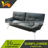 Bed Room / Living Room PU Leather Sofa Bed Furniture Manufacturer                                                                         Quality Choice