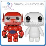 Mini Qute Funko Pop 2 styles Kawaii big hero 6 baymax doll action figures collection cartoon models educational toy