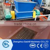 multifunctional two shaft shredder machine for can, metal, tire, Paint pot