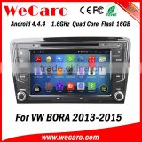 Wecaro WC-VU8007 Android 4.4.4 car stereo 2 din for vw bora navigation system radio gps 1080p 2013 2014 2015                                                                         Quality Choice