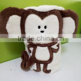 2015 high quality cotton monkey bath towels/cartoon monkey towels