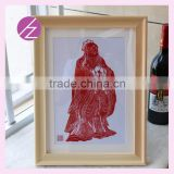 Handmade very unique wedding return gifts handmade paper cuts Chinese Conf paper-cut for house decoration and wedding gift JZ-14