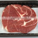 Food Grade Flow-Layers Flow Casting With Meat Pad Plastic Box For Frozen Meat