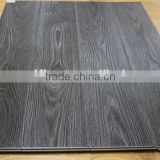 black 12mm AC4 click lock water proof parquet wood floor tiles