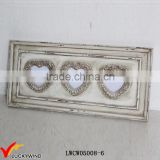 Wall Wood Love Heart Multi Opening Photo Frames Shabby Chic