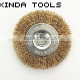 circular wire brushes, Stainless Steel Wire Brush for machine polishing,steel wire cup brush