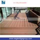 Cheap brown wpc outdoor decking