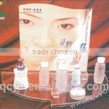 acrylic glass cosmetic display stand