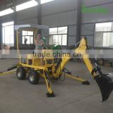 Mini excavator manufacturer factory direct Small Towable Backhoe for sale                                                                                         Most Popular