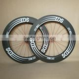 23mm Wide U Shape Tubular Carbon Wheels 88mm Bicycle Wheelset ruedas carbono