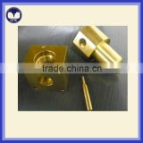 CNC lathe brass part