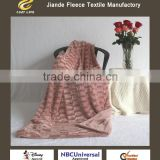 Ultra Soft Throw Fleece micro Plush Luxury BLANKET Printed Pv Fur Polar Double Plush Blanket faux fur
