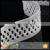 Fashion design beautiful durable new design 2.5cm colored elastic webbing made in China