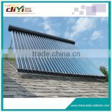With the heat pipe in the vacuum tube pressured heat pipe solar u-type solar collector (heat pipe collector)