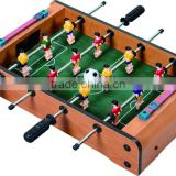 New design wooden mind hand soccer game table with factory cheaper price