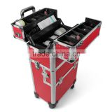Aluminium Trolley suitcase beauty case 60L - 2 or 4 wheels - color selection