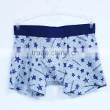 China children's underwear factory organic cotton tight boxer underwear panty for boys
