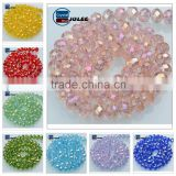Yiwu faceted rondelle bead lampwork murano beads jewelry 3mm crystal glass beads in bulk                                                                         Quality Choice