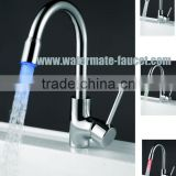 pull-down LED sprayer kitchen faucet mixer tap