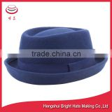 Wool Felt Porkpie Hat for men