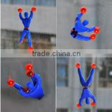 soft TPR sticky spider-man toys