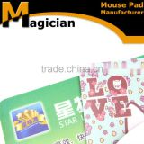 Oriental rubber Mouse Pad 220mm*2*180mm wholesale, China supplier PVC neoprene mouse pad