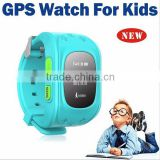 Hot selling Q50 Remote mornitoring GPS tracker position tracking SOS call anti lost OLED display kids smart wrist watch phone                                                                         Quality Choice