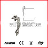 Hot Dip Galvanized Ladder Cable Tray Standard Cover Clamp