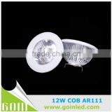 70w halogen replace cob led ar111 spotlights,g53 lamp ar111 led dimmable ce /rohs approved