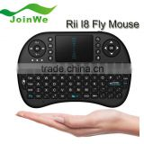 High Quality Hot Sale 2.4GHz Keyboard I8 Mouse Remote Control Touch pad Of Android TV BOX