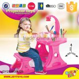 Good selling study table with projector function for kids