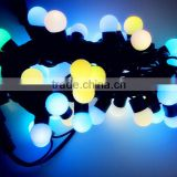 Holiday Christmas RGB 5M 50 Led Ball String Lights Lighting Waterproof+220~240V Power Plug