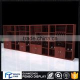 Wholesale quality chinese wooden liquor display cabinet for alcohol