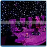 china wholesale led fibre optic curtain lights for concernt/party