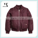 Custom Girl's Lightweight Pilot Jacket Childrens Lined Flight Bomber Jackets Wholesale