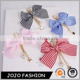 Most Popular Styles China Fabric Strip Knot Felt Keychain for Gift                                                                         Quality Choice