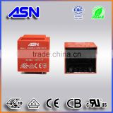VDE CE CB UL CUL ROHS approved Single Phase PCB mount 220V 12V Encapsulated power Transformer