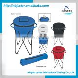 Coolers & Holders Type Eco-Friendly Round Barrel Shape Fast Cooling Beverage Party Cooler for Picnic and Party
