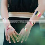 custom design hand tattoo non-toxic water transfer temporary national country flag tattoo sticker