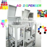 AO200 simultaneous automatic color tinting machine/0.077ml accuracy full automatic colorant dispenser machine