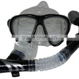 Wholesale female Swimming Pool Anti Fog Goggles Silicone Scuba Mask Snorkel Glasses Diving Equipment