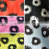 Twisted Taffeta Fake weft shine Memory fabric printed for jacket windbreak etc