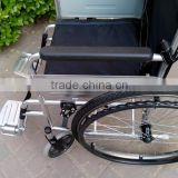 Steel foldable Economic wheelchair