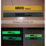 Customized silicone LED bar mat in various design with high quality for promotion