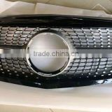 For Mercedes-Benz W205 C class C63 Front grille Grill Diamond