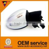 OEM service auto parts chrome car side mirror cover for BMW mini cooper