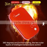 YK- 805 Top Sale Factory Price USB Reusable Instant Hand Warmer Pack Electric Hand Warmer
