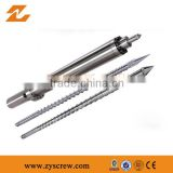 single screw and barrel for PP/ Nylon/ PU/ PC injection moulding machine