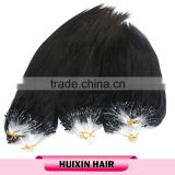 Cambodian human hair wholesale, micro loop quality human hair extension